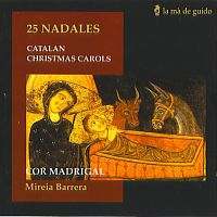Portada del CD: 25 Nadales. Catalan Christmas Carols