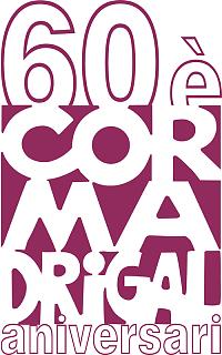 Logo commemoratiu del 60è aniversari del Cor Madrigal